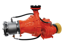 PTH80KK - Horizontal chopper pump with over-gear for tractors.